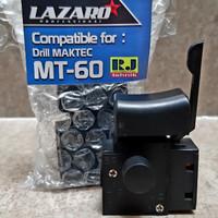 Spare Part Assembly Part Switch Saklar Mesin Bor Maktec MT60 Lazaro
