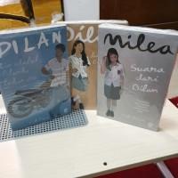 Buku Novel Dilan 1990 1991 Milea Suara Dari Dilan - 3 Volume Pidi Baiq