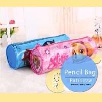 ( New Trend ) Tempat Pensil PVC Bentuk Bulat Motif Kartun Kreatif unt