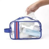 ( New Trend ) Tas Organizer Kosmetik Alat Mandi Portable Transparan A