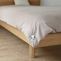 ( New Trend ) 4pc Panda quilt holder is covered by quilt sheets four