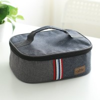 ( New Trend ) Large lunch box insulation bag Oxford cloth aluminum fo