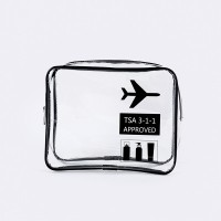 ( New Trend ) Transparent Cosmetic Bag Green Travel Storage Bag Water