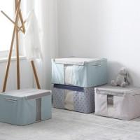 ( New Trend ) Kotak Tempat Menyimpan Pakaian Selimut, Ukuran Besar
