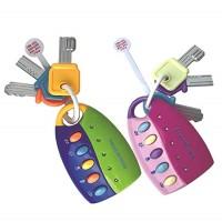 ( New Trend ) Mainan Kunci Mobil dengan Musik Remote Control untuk Ed