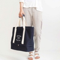 ( New Trend ) hoyou Tas Handbag Lipat Portable Kapasitas Besar Bahan
