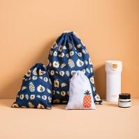 ( New Trend ) 3Pcs Tas Penyimpanan Pakaian Dalam Portable dengan Tali