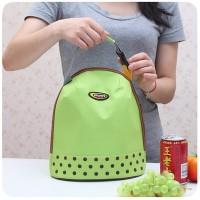 ( New Trend ) Tas Handbag Lunch Bag Bekal Piknik Insulated Portable M