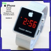 Jam tangan murah iphone layar sentuh ready 4 warna Jam tangan elega
