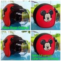 Helm Bogo model Mickey Mouse