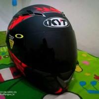 Helm KYT Vendetta 2 spike Red Black Doff fullface