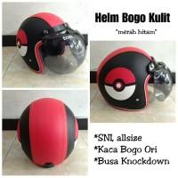 Helm Bogo model Poke ball