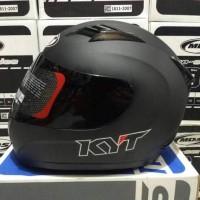 Helm KYT fullface model blackdove