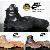 sepatu boots nike california safety tracking ujung besi di lapak kami