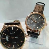 Jam Tangan Alba analog ( couple )