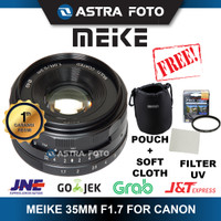 LENSA MEIKE 35mm F1.7 FOR CANON MIRRORLESS M10,M3,M5,M6