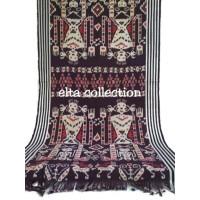 kain tenun ikat blanket antik motive sumba