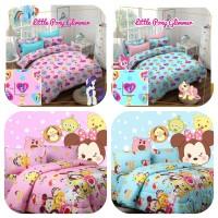 Seprei dan Bed Cover Motif Anak