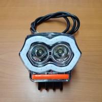 lampu tembak led CREE A02X AE + charger