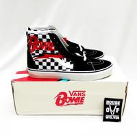 Vans x David Bowie Sk8Hi Checkerboard