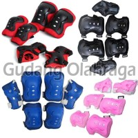 Promo Deker Inline Skate / Pelindung Lutut Sikut Sepatu Roda Anak