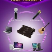 SOUND CARD EXTERNAL XOX KS108 ONLINE RECORDING SMULE KS 108 RECORD USB