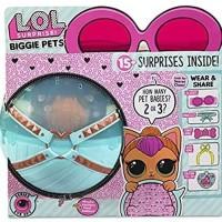 Mainan LOL L O L Surprise Biggie Pets Neon Kitty Eye Spy USA 2018 RARE
