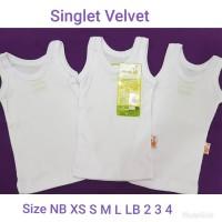 singlet velvet no 3(6pc)