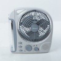 lampu emergency led + radio