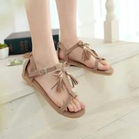 sandal teplek tali pita