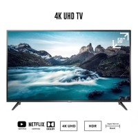 TCL 50E3 Smart UHD 4K TV with Dolby sound