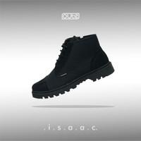 ISAAC BLACK CAPTOE BOOTS