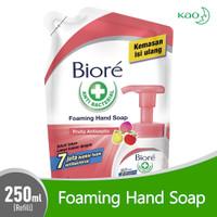 Sabun Cuci Tangan Biore Foaming Hand Wash Fruity Antiseptic 250 ml
