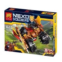 NOT LEGO Lele Nexo Knights Lance's Vehicle 90% Ori