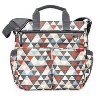 SkipHop Messenger Diaper Bag Tas Perlengkapan Bayi Impor Triangels