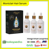 Paket Gold Dengan Dermaroller - Montclair Hair Serum