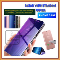 VIVO Y17 1902 CLEAR VIEW FLIP COVER HARD CASE STANDING