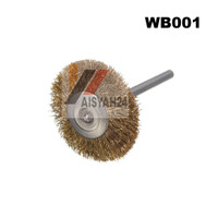Steel Wire Wheel Brush I Sikat Kawat Baja Roda 3mm buat Mini Grinder