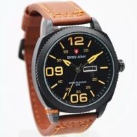 jam tangan pria swis army analog tanggal aktif