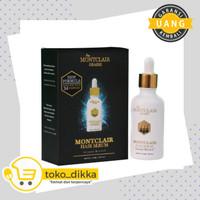 Montclair Hair Serum - Platinum Version Isi 5 Botol + Dermaroller