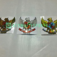 Emblem Sticker Stiker 3D Lambang Burung Garuda 6,7cm