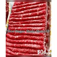 Australia Wagyu Slice ShabuShabu Fullblood-Sirloin Marble 7-Fat