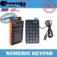 M-TECH Numeric Keypad USB Numerik Keyboard