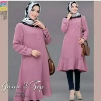 Busana Muslim Baju Atasan Wanita Tunik INNA Terbaru Termurah Terlaris