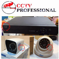 PAKET CCTV EDGE 4 CAMERA 5 MEGAPIXEL LENGKAP PLUS HDD