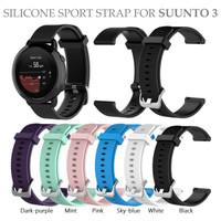 Silicone Sport Strap for SUUNTO 3 Tali Jam Rubber