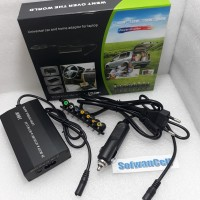 Adaptor Universal laptop adapter 100W Combo Charger DI mobil 12v24v 5A