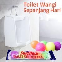 Swallow Kamper Toilet Isi 5 Bola Jumbo / Pewangi Toilet Colour Ball