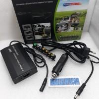 CHARGER Laptop universal adaptor 100w combo 12v-24v USB Casan DI MOBIL