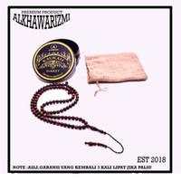 TASBIH KAUKAH UNTUK KESEHATAN TURKI GARANSI ASLI 99 BUTIR 8MM - Cokelat